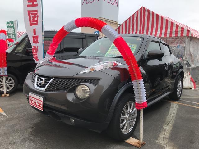 沖縄の中古車 日産 ジューク 車両価格 98万円 リ済込 2012(平成24)年 4.2万km グレー