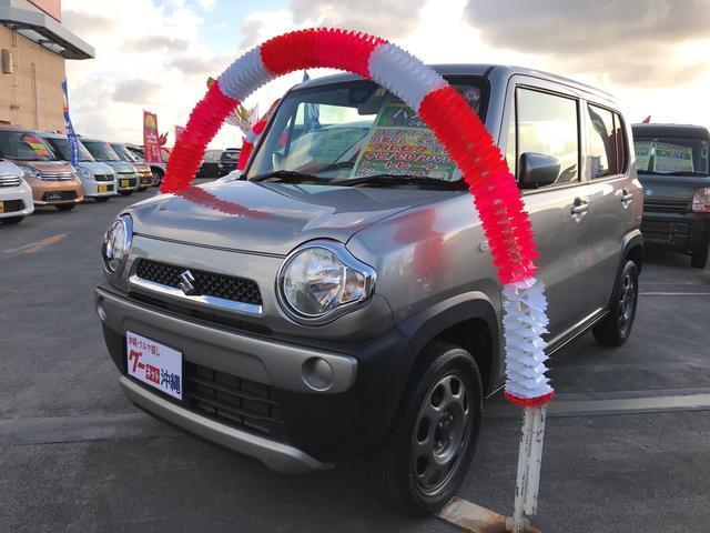 沖縄の中古車 スズキ ハスラー 車両価格 90万円 リ済込 2015(平成27)年 7.1万km シルバー