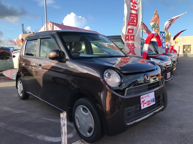 沖縄の中古車 ホンダ N-ONE 車両価格 90万円 リ済込 2013(平成25)年 6.8万km ブラウン
