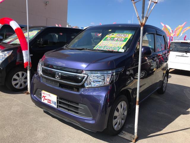 沖縄の中古車 ホンダ N-WGN 車両価格 84万円 リ済込 2013(平成25)年 7.3万km プレミアムブルームーンパール