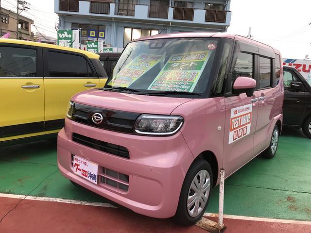 沖縄の中古車 ダイハツ タント 車両価格 165万円 リ未 新車  ピンク