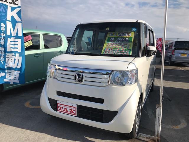沖縄県の中古車ならN-BOX G アイドリングストップ 2年保証