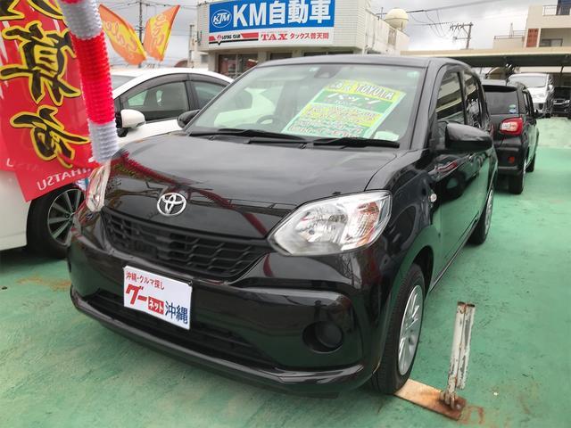沖縄の中古車 トヨタ パッソ 車両価格 88万円 リ済込 2016(平成28)年 5.8万km ブラック