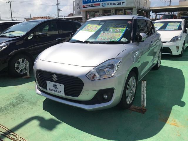沖縄の中古車 スズキ スイフト 車両価格 101万円 リ済込 2017(平成29)年 6.3万km シルバー