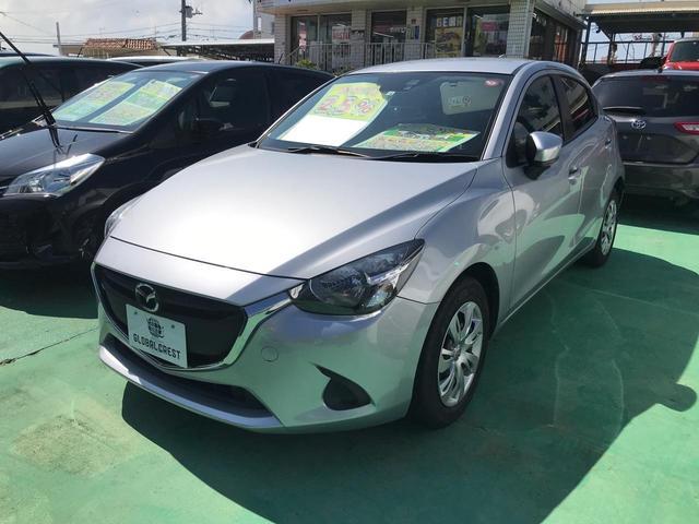沖縄の中古車 マツダ デミオ 車両価格 88万円 リ済込 2017(平成29)年 6.0万km シルバー