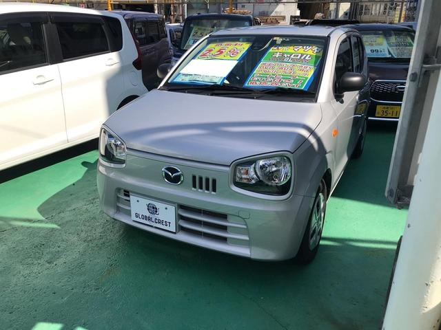 沖縄の中古車 マツダ キャロル 車両価格 73万円 リ済込 2017(平成29)年 7.0万km シルバー