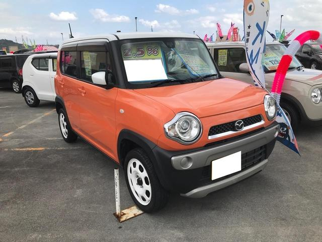 沖縄の中古車 マツダ フレアクロスオーバー 車両価格 94万円 リ済込 2016(平成28)年 5.9万km オレンジ