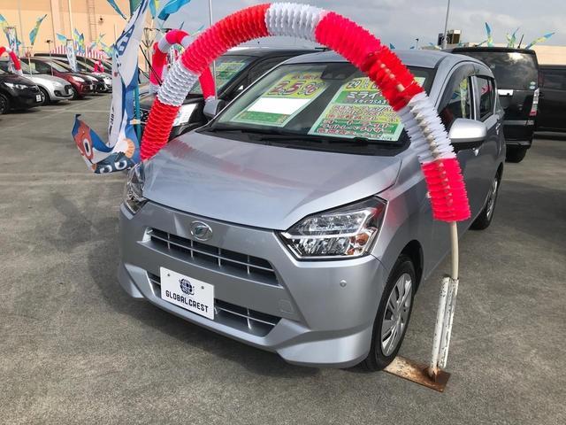 沖縄の中古車 ダイハツ ミライース 車両価格 74万円 リ済込 2017(平成29)年 5.1万km シルバー