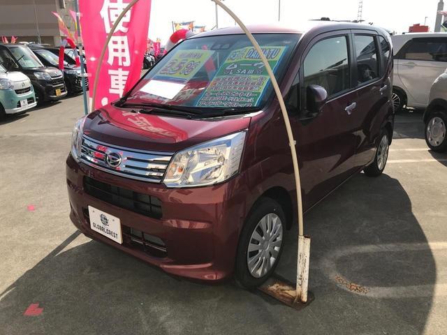 沖縄の中古車 ダイハツ ムーヴ 車両価格 122万円 リ済込 2021(令和3)年 17km ワイン