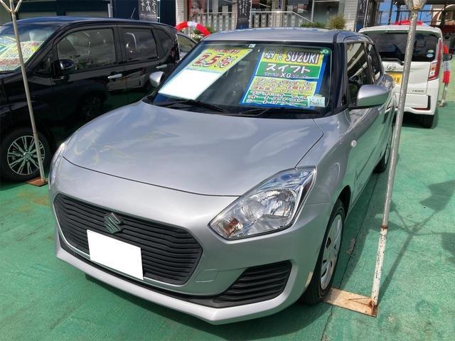 沖縄の中古車 スズキ スイフト 車両価格 95万円 リ済込 2017(平成29)年 4.7万km シルバー