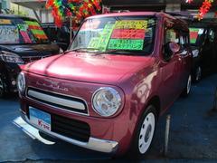 沖縄の中古車 スズキ アルトラパンショコラ 車両価格 83万円 リ済込 平成27年 3.0万K カシスピンクパールメタリック