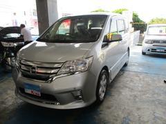 沖縄の中古車 日産 セレナ 車両価格 119万円 リ済込 平成24年 6.7万K シルバー
