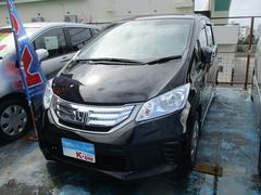 沖縄の中古車 ホンダ フリードハイブリッド 車両価格 119万円 リ済込 平成24年 6.4万K ブラック