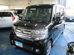 沖縄の中古車 ホンダ N BOXカスタム 車両価格 125万円 リ済込 平成28年 1.6万K ブラック