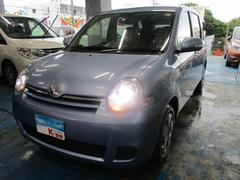沖縄の中古車 トヨタ シエンタ 車両価格 88万円 リ済込 平成27年 4.7万K ライトブルー