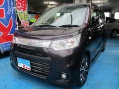沖縄の中古車 スズキ ワゴンRスティングレー 車両価格 69万円 リ済込 平成25年 5.7万K ダークパープル