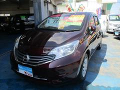 沖縄の中古車 日産 ノート 車両価格 79万円 リ済込 平成28年 2.1万K パープル