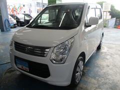 沖縄の中古車 スズキ ワゴンR 車両価格 55万円 リ済込 平成25年 3.6万K ホワイト