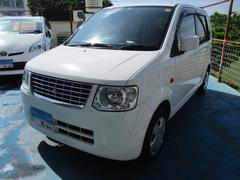 沖縄の中古車 三菱 eKワゴン 車両価格 35万円 リ済込 平成25年 7.0万K ホワイト