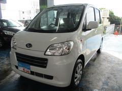 沖縄の中古車 スバル ルクラ 車両価格 45万円 リ済込 平成24年 4.9万K パールホワイト