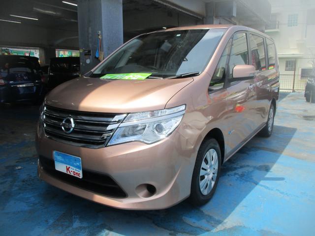 沖縄の中古車 日産 セレナ 車両価格 119万円 リ済込 平成26年 5.5万km ブロンズ