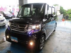 沖縄の中古車 ホンダ N BOXカスタム 車両価格 125万円 リ済込 平成28年 2.0万K ブラック