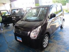 沖縄の中古車 スズキ ワゴンR 車両価格 59万円 リ済込 平成26年 2.6万K ダークパープル