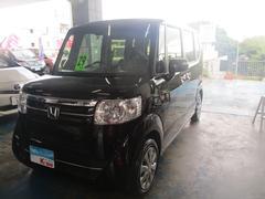沖縄の中古車 ホンダ N BOX 車両価格 105万円 リ済込 平成29年 3.3万K ブラック