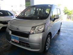 沖縄の中古車 ダイハツ ムーヴ 車両価格 49万円 リ済込 平成25年 6.3万K シルバー