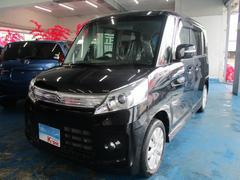 沖縄の中古車 スズキ スペーシアカスタム 車両価格 93万円 リ済込 平成26年 4.8万K ブラック