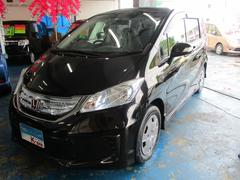 沖縄の中古車 ホンダ フリードハイブリッド 車両価格 118万円 リ済込 平成24年 4.5万K ブラック