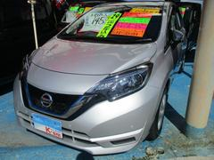 沖縄の中古車 日産 ノート 車両価格 135万円 リ済込 平成29年 1.3万K シルバー