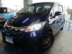 沖縄の中古車 ホンダ フリード 車両価格 129万円 リ済込 平成28年 1.9万K ブルーM