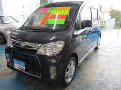 沖縄の中古車 ダイハツ タントエグゼ 車両価格 69万円 リ済込 平成25年 6.1万K アーバンナイトブルークリスタルM