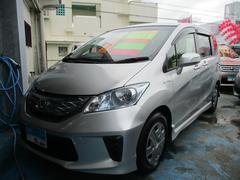 沖縄の中古車 ホンダ フリードハイブリッド 車両価格 119万円 リ済込 平成24年 6.1万K シルバー