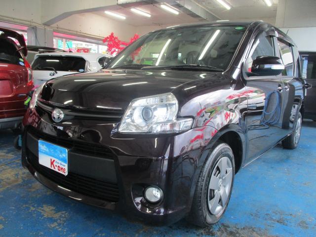 沖縄の中古車 トヨタ シエンタ 車両価格 78万円 リ済込 平成25年 6.6万km ダークパープル