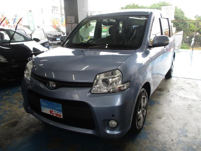 沖縄の中古車 トヨタ シエンタ 車両価格 79万円 リ済込 平成26年 3.6万km ライトブルーM