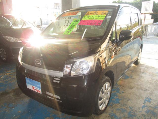 沖縄の中古車 ダイハツ ムーヴ 車両価格 49万円 リ済込 平成25年 2.2万km ブラック