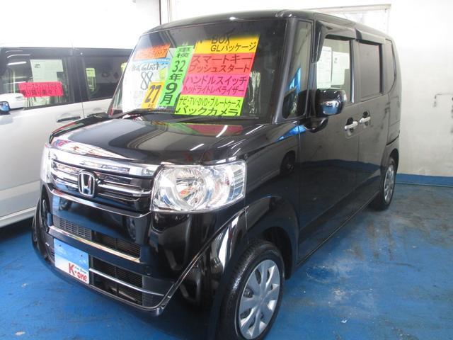 沖縄の中古車 ホンダ N-BOX 車両価格 83万円 リ済込 平成27年 5.6万km ブラック