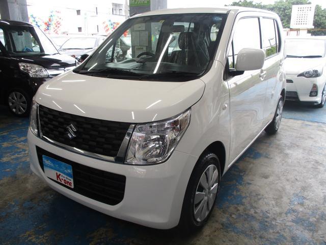沖縄の中古車 スズキ ワゴンR 車両価格 58万円 リ済込 平成27年 4.2万km ホワイト