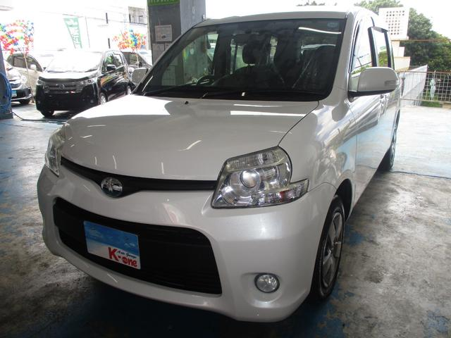 沖縄の中古車 トヨタ シエンタ 車両価格 79万円 リ済込 平成26年 5.0万km パールホワイト