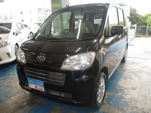 沖縄の中古車 スバル ルクラ 車両価格 45万円 リ済込 平成24年 6.9万km ブラック