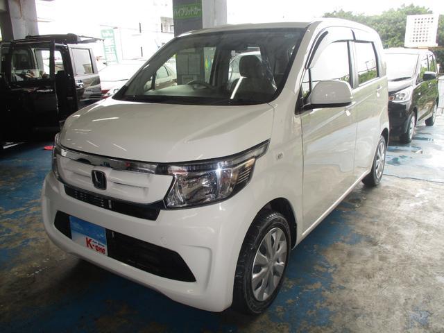沖縄の中古車 ホンダ N-WGN 車両価格 75万円 リ済込 平成29年 1.9万km ホワイト