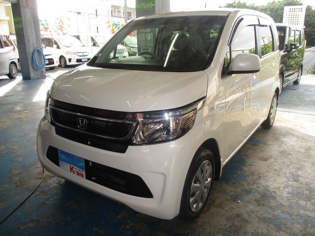 沖縄の中古車 ホンダ N-WGN 車両価格 79万円 リ済込 平成28年 2.5万km パールホワイト