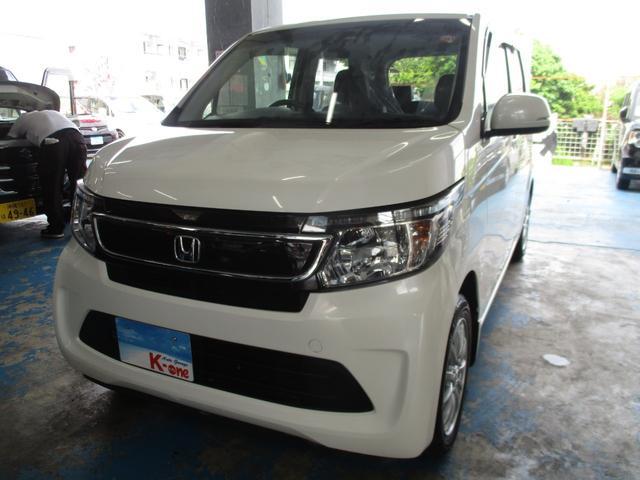 沖縄の中古車 ホンダ N-WGN 車両価格 75万円 リ済込 2016(平成28)年 5.1万km パールホワイト