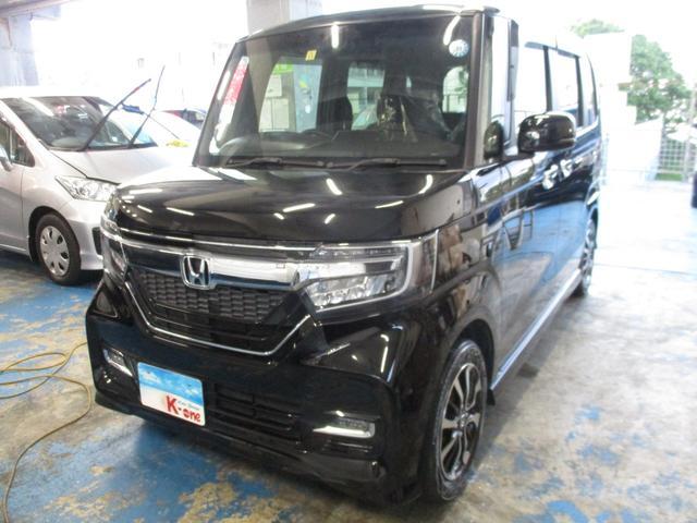 沖縄県の中古車ならN-BOXカスタム G・L