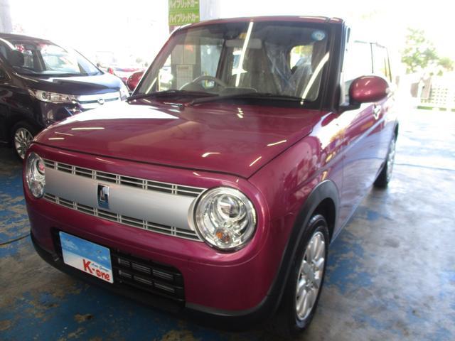 沖縄県宜野湾市の中古車ならアルトラパン Xレーダーブレーキサポート搭載