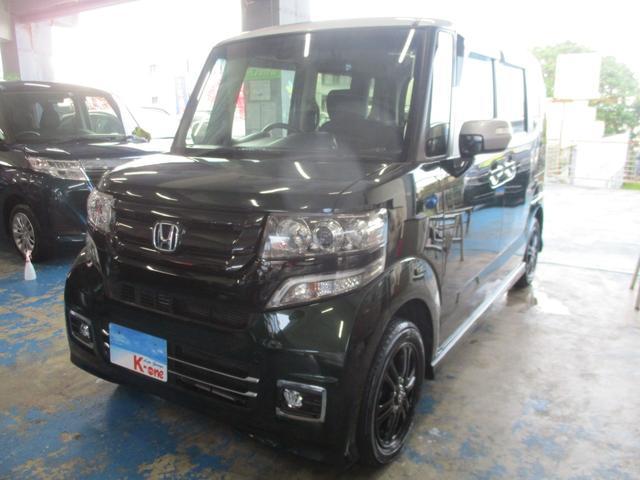 沖縄県宜野湾市の中古車ならN-BOXカスタム G・Lパッケージ