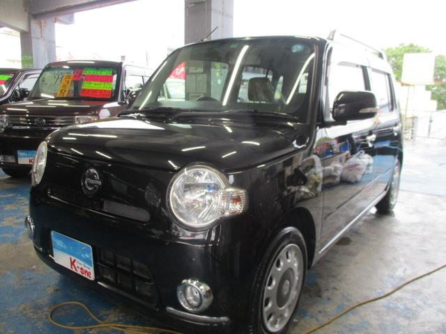 沖縄の中古車 ダイハツ ミラココア 車両価格 55万円 リ済込 2013(平成25)年 4.5万km ブラックM