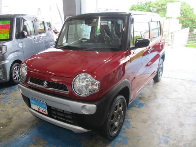 沖縄県宜野湾市の中古車ならハスラー Gレーダーブレーキサポート搭載車